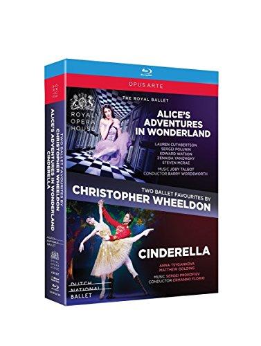 Two Ballet Favourites by Christopher Wheeldon - Alice's Adventures in Wonderland / Cinderella (2011-2012) (2-Blu Ray Box Set) [Blu-ray]