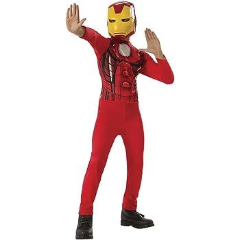 Avengers - Disfraz de Iron Man para niño, infantil 8-10 años ...