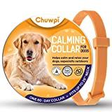 CHUWPI Dogs Calming Collar [2021 New Version] - Dog Calm Products, Pheromones for Dogs, Anxiety Relief Fits Small Medium and Large Dogs - Adjustable and Waterproof