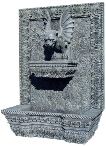Ladybug Gargoyle Fountain, Moss