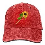 wwoman Hut mit Schnappverschluss, Baumwolle, Rot