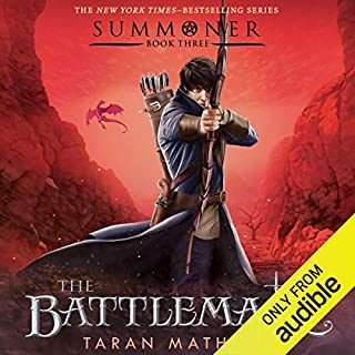 The Battlemage audiobook cover art