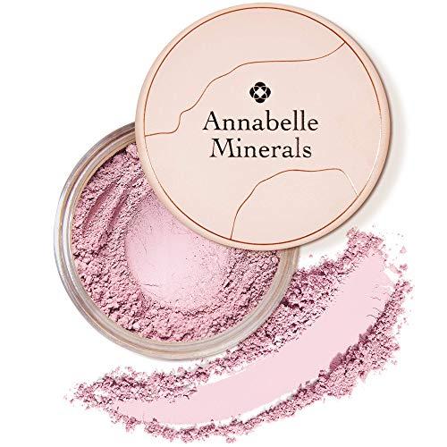 Annabelle Minerals - Natürlicher Mineral-Puder-Rouge - Mattes Make-up-Finish - Hochpigmentiert - Lang Anhaltendes Makeup - Natürliches frisches Aussehen - Für alle Hauttypen - Vegan - Satin Rose - 4g