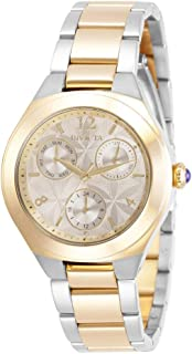 Invicta Women's Analogue Quartz Watch with Stainless Steel Strap 30684