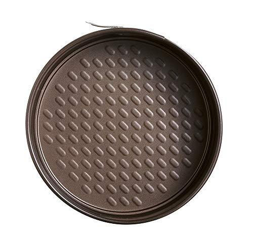 Molde de repostería Metal Con un asa XL para facilitar el agarre y una pequeña asa de soporte Fabricado en acero carbonatado Revestimiento antiadherente rugoso para facilitar su limpieza