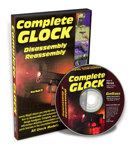 Price comparison product image Complete Glock DVD: Disassembly & Reassembly Glock Models 17,  17L,  19,  20,  21