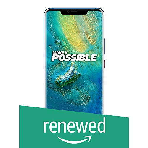 (Renewed) Huawei Mate 20 Pro (Twilight Blue, 6GB RAM, 128GB Storage)