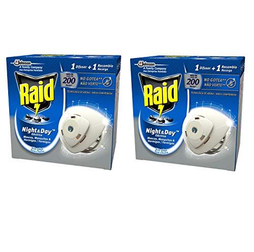 Raid - Night & Day - Anti-mosquitos Eléctrico - Aparato + Recambio...