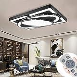 MIWOOHO 90W Dimmbar LED Deckenleuchte Modern Deckenlampe Schlafzimmer Flur Wohnzimmer Lampe...