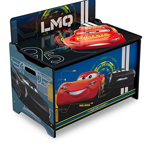 Delta Children Deluxe Toy Box,...