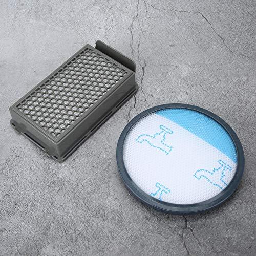 Emoshayoga Filtro de aspiradora para Accesorios de aspiradora Rowenta Filtro de instalación Simple Fibra de poliéster efectiva ABS Cocina del hogar
