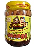 Tamanzela Tarugos Tamarindo Tamarind Candy Sticks 40Pcs 640g Authentic Mexican Candy with Free Chocolate Kinder Bar Included