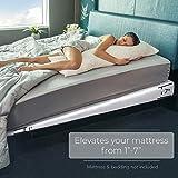 Avana Mattress Elevator - Under Bed 7-Inch Incline Foam Support, Queen