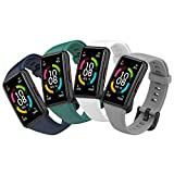 Mijobs Armband Kompatibel für Honor Band 6, Honor Band 6 Ersatzarmband Wasserdichtes Sport Soft Silikon Uhrenarmband