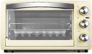 Qinmo Horno eléctrico, Mini-30L Horno con ajuste de temperatura de 0 a 230 □ y 0-60 minutos en temporizador, 1050W de tres capas cristal de la puerta del horno