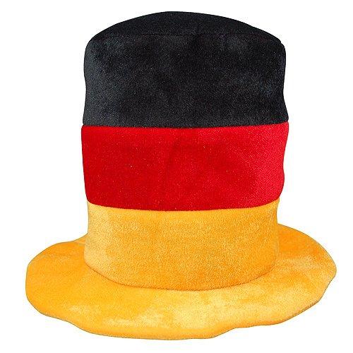 ELASTOFIT 2er-Set Fanhut Deutschland Zylinder Fanartikel EM 2020 Mütze