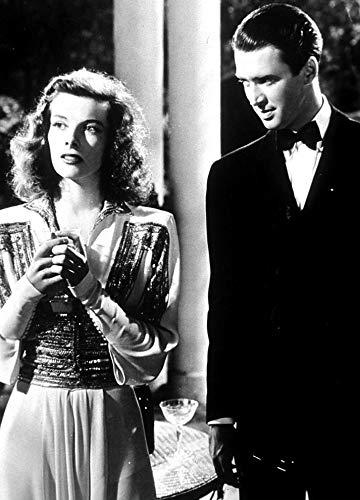 Film still featuring Katharine Hepburn and Jimmy Stewart in The Philadelphia Story Photo Print (8 x 10)