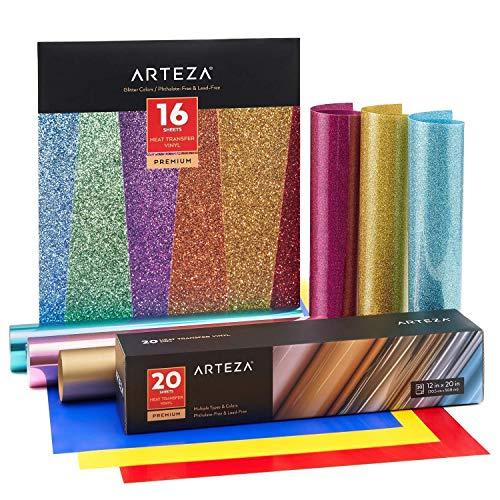 Arteza Vinyl Expert Bundle, Art Supplies for Artist, Hobby Painters & Beginners