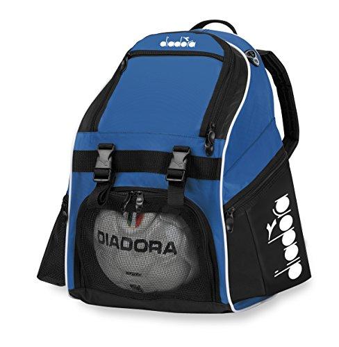 Diadora Squadra II Soccer Backpack, Royal/Black