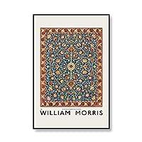 """ウィリアムモリスヴィンテージインテリア家の装飾キャンバスウォールアート絵画写真リビングルームの装飾のための壁の装飾40x60cm16""""x24""""(フレームなし)"""
