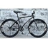YXWJ 26 pulgadas de suspensión de bicicletas de montaña para el adulto de la bicicleta completa Frenos Mtb engranajes de doble disco de bicicletas de montaña para
