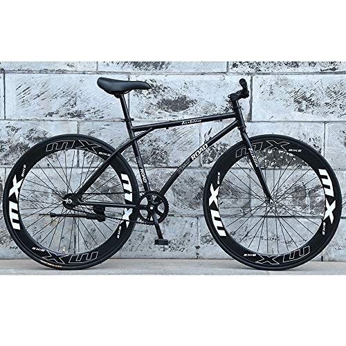 YXWJ 26 Pollici for Mountain Bike di Sospensione for Adulti Bicicletta Piena Freni MTB Doppio Disco Gears Mountain Bike for Gli Uomini Le Donne della Forcella della Sospensione, Freno a Disco
