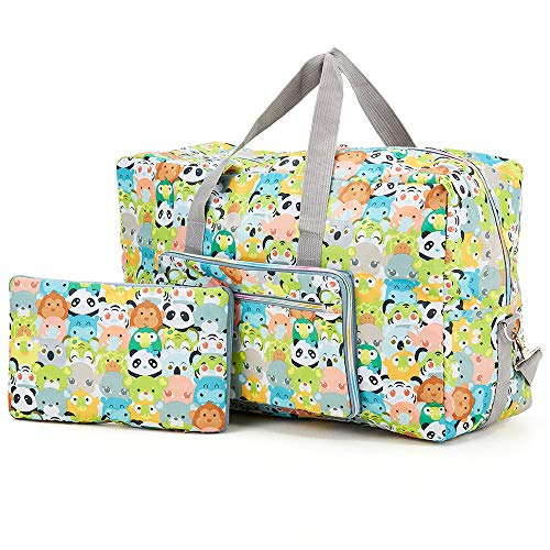 Arxus Large Foldable Duffel Tote Carry on Weekend Overnight Travel Bag Over...