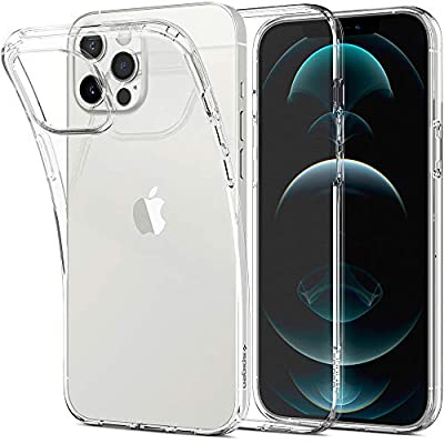 Spigen Liquid Crystal Designed for iPhone 12 Pro Max Case (2020) - Crystal Clear