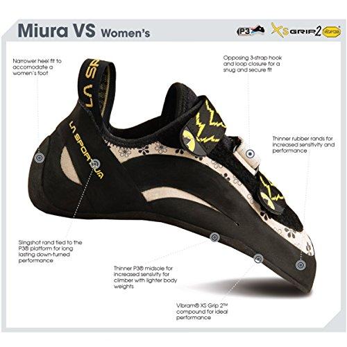 La Sportiva Miura VS Womens Climbing Shoe Blue - 38.5