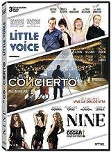 Pack: Little Voice + El Concierto + Nine [DVD]