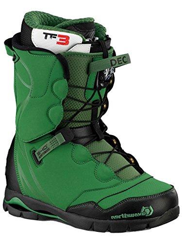 Northwave Decade Super Spitzen Men's Snowboard Boots grün dunkelgrün 25