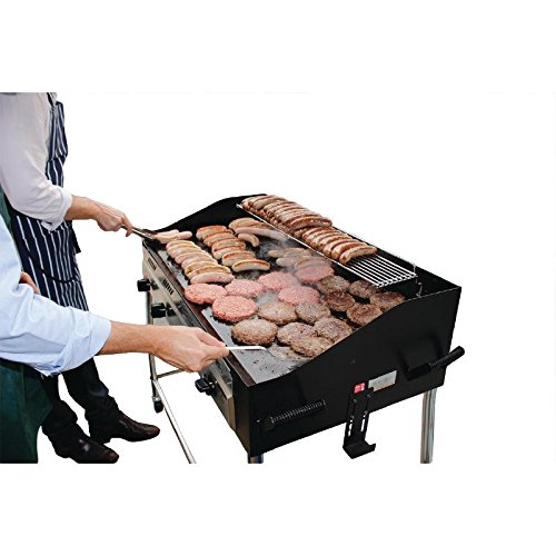 Buffalo Barbecue Griddle LPG 1025x1291x672mm Gas Burner Commercial