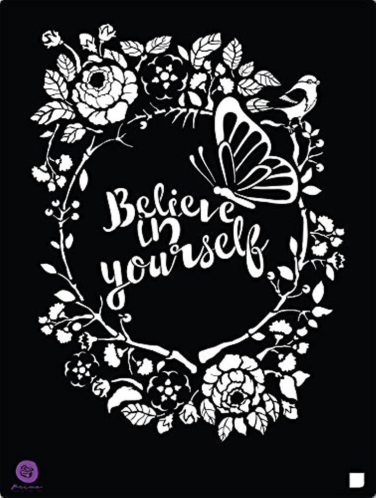 Prima Marketing 8x10 Stencil - Believe