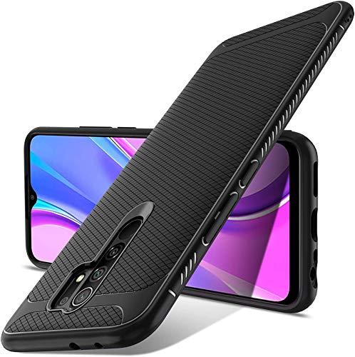 Luibor für XiaoMi RedMi 9 Hülle, Ultra Dünn Handyhülle, Qualität Stoßdämpfend, Staubschutz, Anti-Kratz Schutzhülle für XiaoMi RedMi 9 Hülle