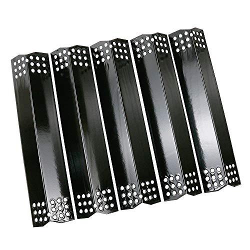 Uniflasy 14 9/16 Zoll Porzellan Stahl Grill Heizplatten Zelt für Nexgrill 720-0830H, 720-0830D, 720-0888N, Uberhaus 780-0003, Grill Master 720 0697, Sunbeam, 5 Pack Nexgrill Ersatzteile