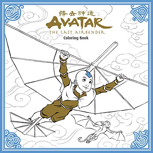 Nickelodeon: Avatar: The Last Airbender Colouring Book