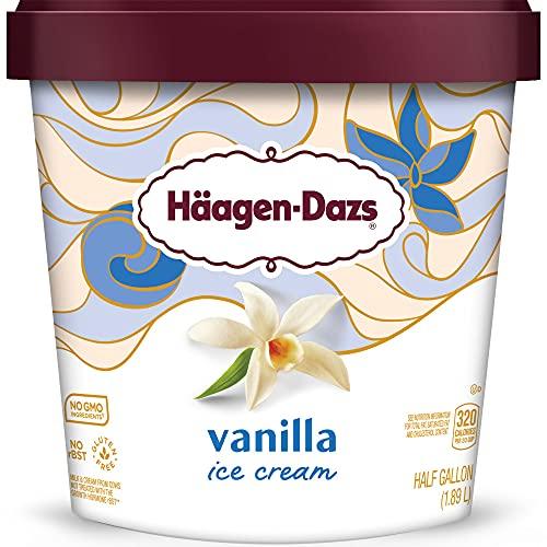 Haagen-Dazs Ice Cream, Vanilla, 64 oz (Frozen)