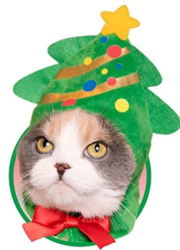 ねこのかぶりもの第13弾 かわいいかわいい ねこクリスマスちゃん 【 ツリー 】 単品 ガチャ