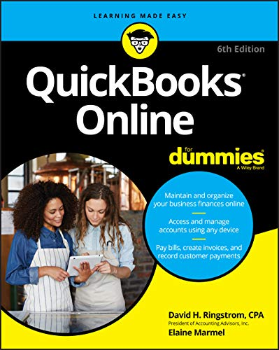 QuickBooks Online For Dummies, 6th Edition (For Dummies (Computer/Tech))