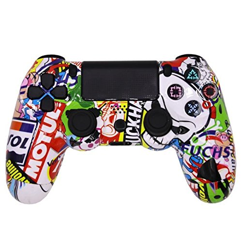 Manette de Jeu Édition Collector Cartoon compatible avec PS4 Playstation