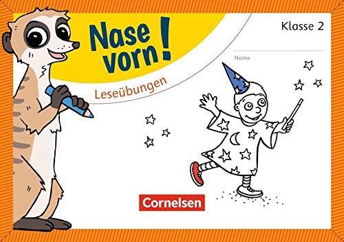 Nase vorn! - Deutsch - Übungshefte: 2. Schuljahr - Leseübungen: Übungsheft