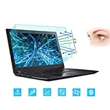 2-Pack 15.6 Inch Laptop Screen Protector -Blue Light and Anti Glare Filter, FORITO Eye Protection Blue Light...