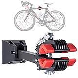 Soporte de Pared para Bicicleta Plegable, Bicicleta de Montaña Ebike Soporte de Reparación de Pared para Bicicleta, ángulo y Distancia de Pared Ajustables, Soporte de Montaje,MAX 20kg
