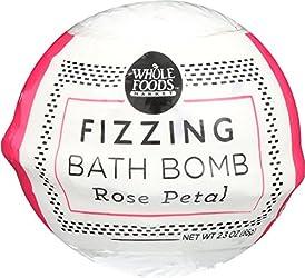 Whole Foods Market, Rose Petal Fizzing Bath Bomb, 2.3 oz