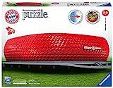 Ravensburger- European Soccer Club Puzzle 3D Allianz Arena, Color carbón (12526)