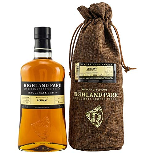 Highland Park Whisky 12 Jahre Single Sherry Butt 0,7l - Single Cask Series for Germany