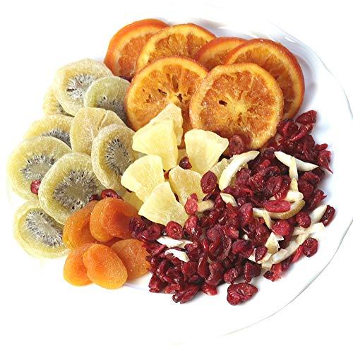 大地の生菓 ドライフルーツ プレミアムミックス 500g パイン クランベリー あんず キウイ レモン オレンジ 6種類のミックス