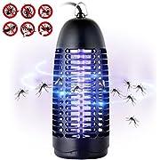 Greatever Elektronischer Insektenvernichter Insektenabwehr Insektenfalle Insektenschutz Mücke Falle - 100% Zufriedenheitsgarantie