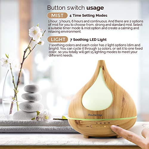300ml-Wood-Pattern-Essential-Oil-Diffusers-for-AromatherapyEssential-Oil-Aroma-Diffuser-and-Humidifier-with-Timing-7-Color-LED-Nightlight-for-BabyHomeBathroom