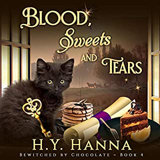 Blood, Sweets and Tears     Bewitched by Chocolate Mysteries, Book 4              By:                                                                                                                                 H.Y. Hanna                               Narrated by:                                                                                                                                 Pearl Hewitt                      Length: 6 hrs and 33 mins     6 ratings     Overall 5.0